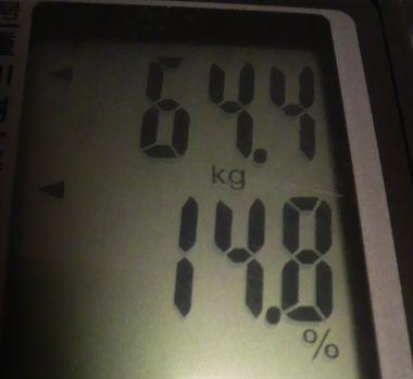 2010年4月2日の体重