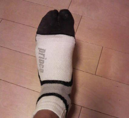 プリンスの足袋ソックス