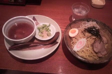涼味つけ麺
