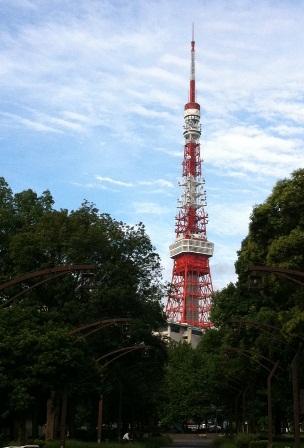 9月5日の東京タワー