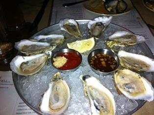 東海岸の牡蠣