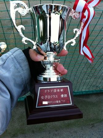 優勝カップ(持ち帰り用)