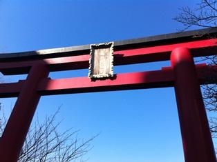 亀戸天神(鳥居)