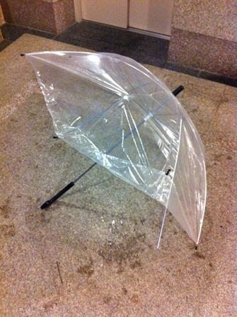 傘ブロークン