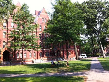 ハーバード大学キャンパス